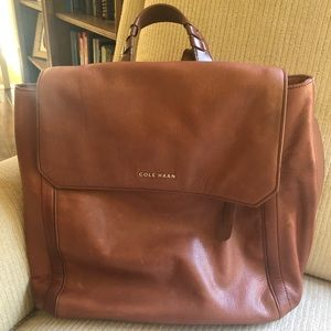 Cole Haan women's leather backpack
